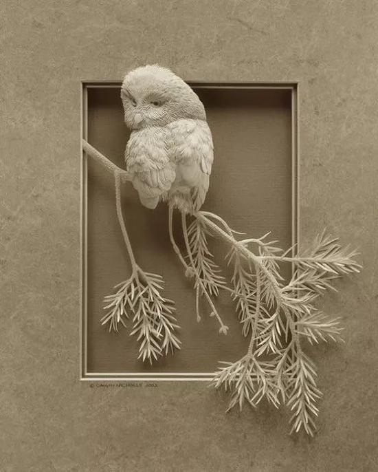 纸质动物的浮雕你见过吗?